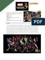 Marvel vs Capcom 3, informacion Completa