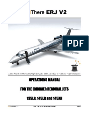 ERJ V2 Operations Manual | Jet Engine | Aviation