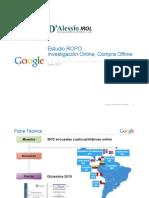 Google Estudio Usuarios Internet 2011