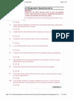 Customer Service Skills Assessment
