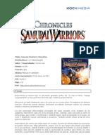 Samurai Warriors, informacion