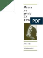 Filipe Pires Musica No Seculo Xx Portuense