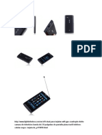 Expecificaciones X-10 Con Gps
