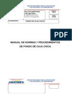 Manual de Fondo de Caja Chica