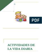 Clasificación AVD