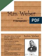 Max Weber - Sociologia
