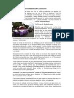Costumbres y Tradiciones de Quetzaltenango