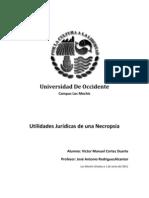 Utilidades Juridicas de La Necropsia