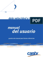 Manual Del Usuario para conectar su red