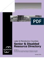 2011 Lake and Mendo Senior and Disabled Resource Directory