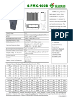 Battery 6 FMX 100B,12V100Ah Description