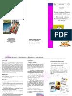 Folheto projecto BE1