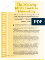 Minority MBA Guide Networking