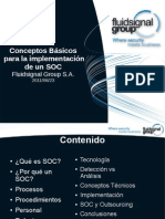 Conceptos básicos para la implementación de un SOC