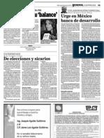 06-07-11 Exspreso- Urge en México una banca de desarrollo
