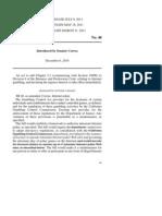 California Senate Bill 40 ( Introduced by Senator Correa)