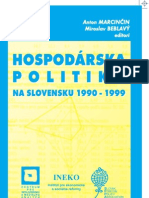 Marcincin Belblavy - Hospodarska Politika