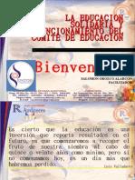 Educacion Solidaria y Comite de Educacion Julio 2011