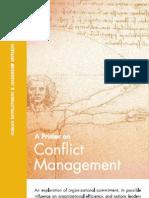 Primer on Conflict Management