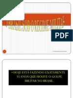 o Brasil Sob o Regime Militar