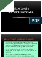 1. Relaciones Interpresonales