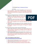 Final Exam Review - Spring 2011