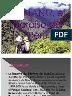 EL MANU, el paraíso del Perú