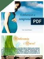 Embarazo a Temprana Edad