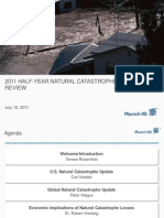 2011 Half-Year Natural Catastrophe Review  Jul 12th-2011