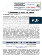 Informe do Comando Nacional de Greve (12.jul.2011)