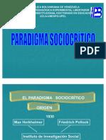 Paradigma Socio Critica