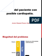 Estudio Del Paciente Cardiopata Jesus Manuel Ponce