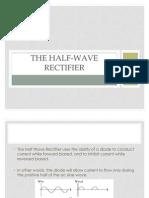 The Half-wave Rectifier