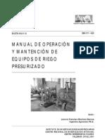 Manual Equipos Riego Presurizado