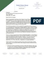 Senator Crapo Letter to SEC Re FCPA Reform