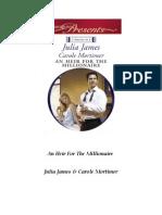 [Duet] - An Heir for the Millionaire - Julia James & Carole Mortimer[1]