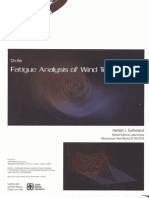 Sutherland_Fatigue Analysis of Wind Turbines_1999