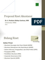 Proposal Riset Akuntansi 2011