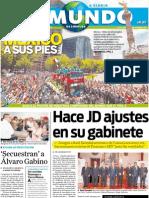 Portada El Mundo de Córdoba 12 de julio de 2011