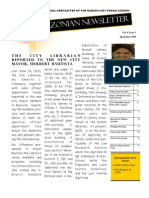 Quezonian Newsletter June 2010