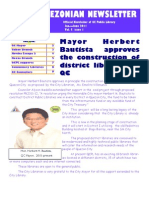 Quezonian Newsletter June 2011