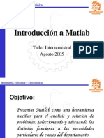 Tutorial a Matlab