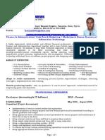 Curriculum Vitae - Raj Matthews