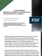 Analisis Obligasi Daerah