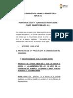 SOTO INFORME DE GESTIÓN 1 SEMESTRE 2011-1