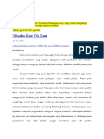 Etika Dan Kode Etik Guru oleh Indo Rappe STKIP YAPIM