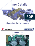 Compressor Frame Detailss