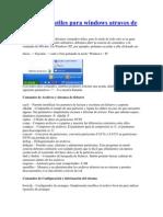 Comando Utiles Para Windows