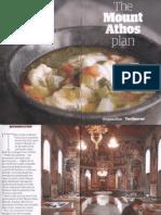 Mount Athos Plan_Healthy Living (Pt 2)