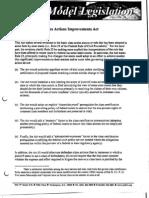 ALEC Class Action Improvements Act